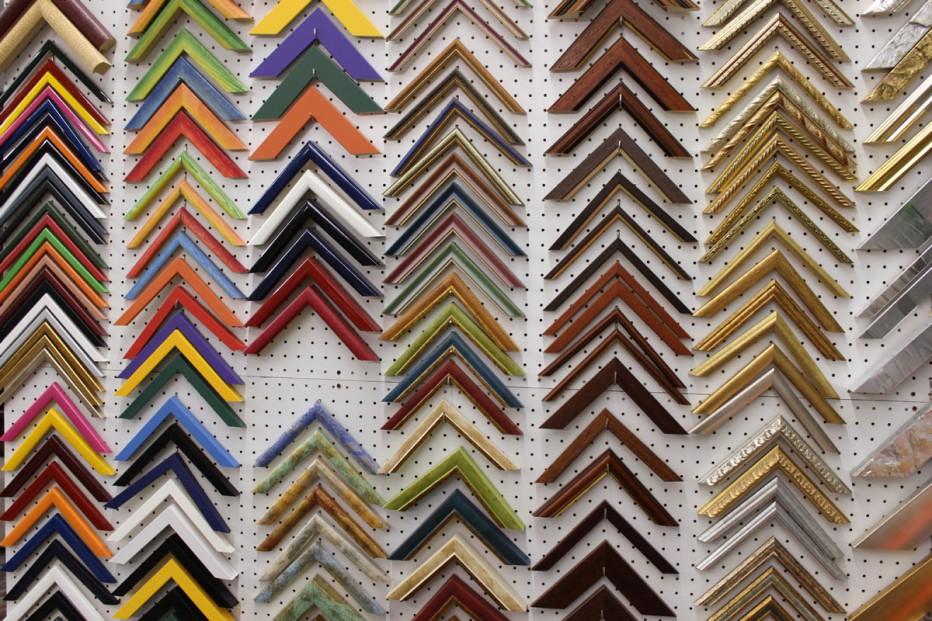 Cornici per quadri z point colorificio for Cornici quadri